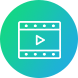 video icon green