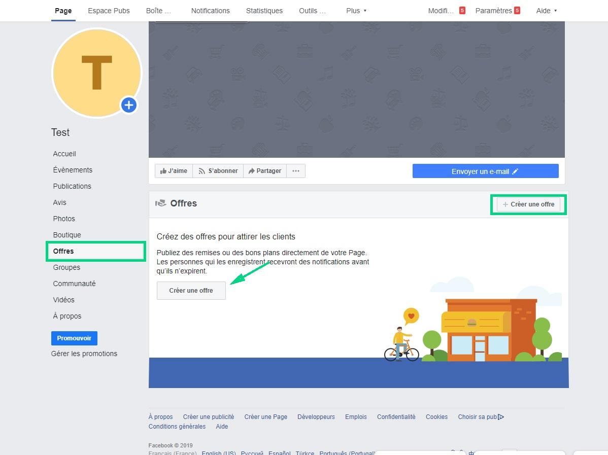 Ajouter des informations sur les produits page Facebook image 2