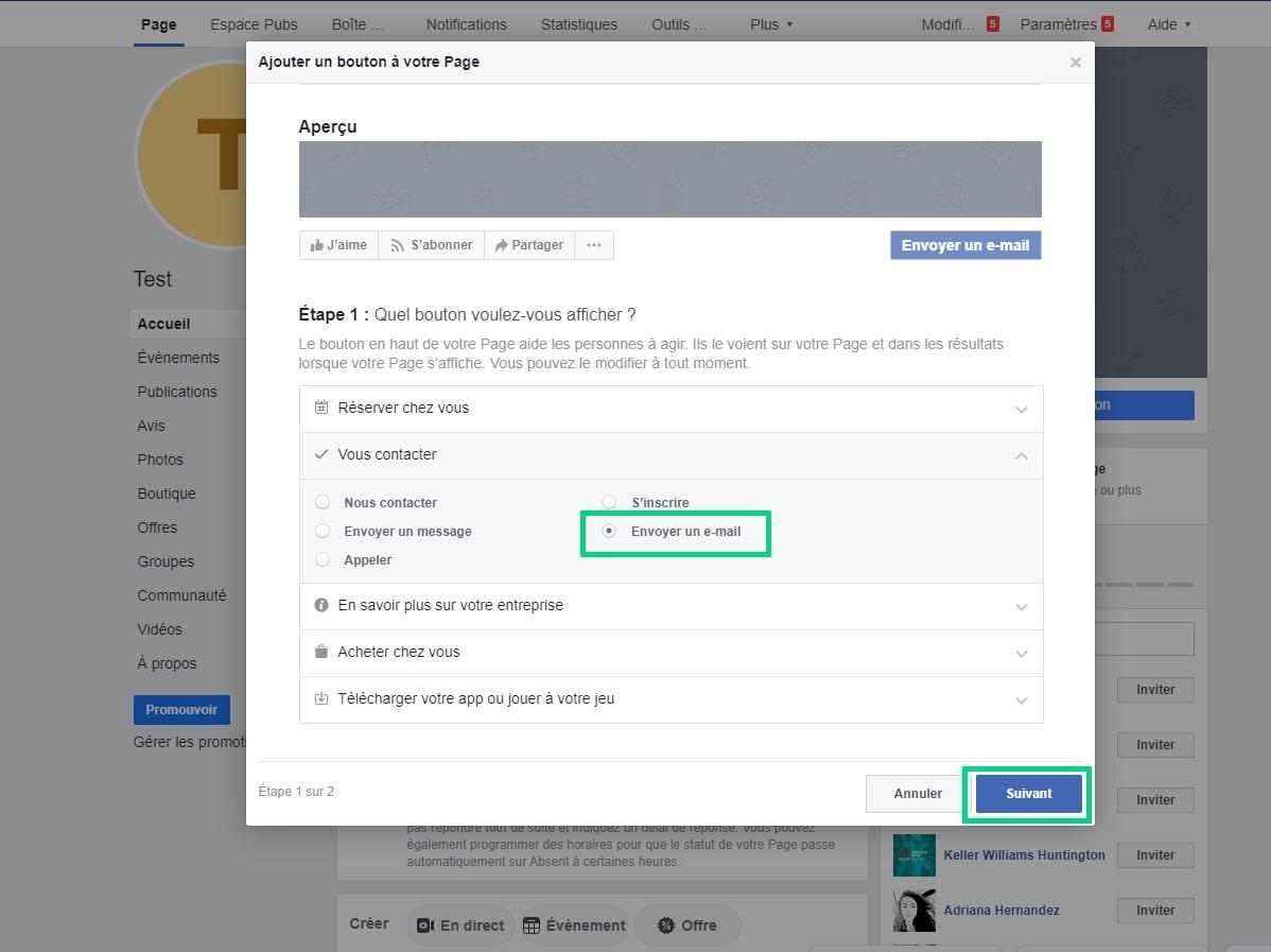 Ajouter un bouton a page Facebook image 2