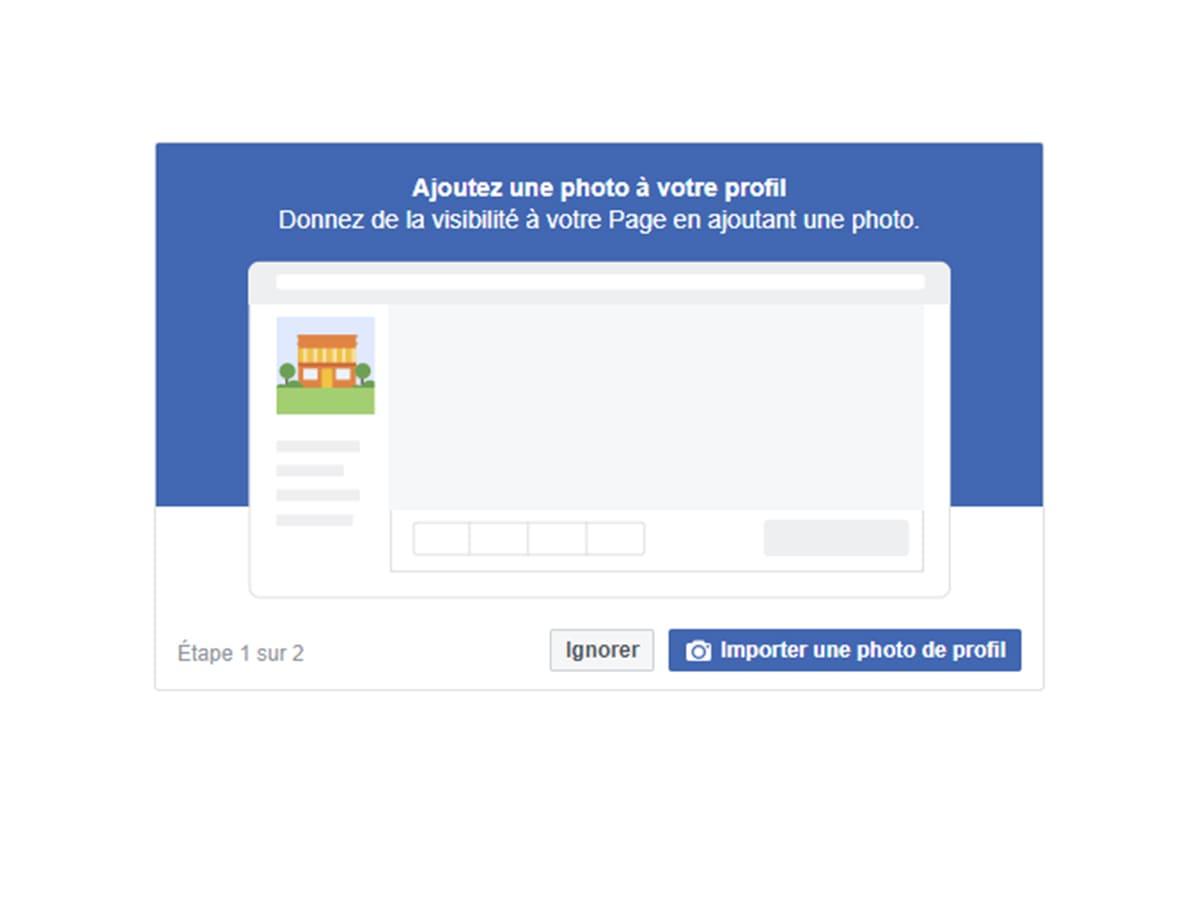 concevoir la page entreprise Facebbok image 1