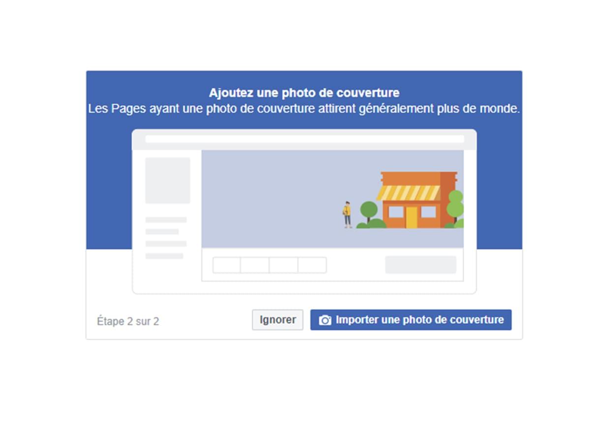 concevoir la page entreprise Facebbok image 2