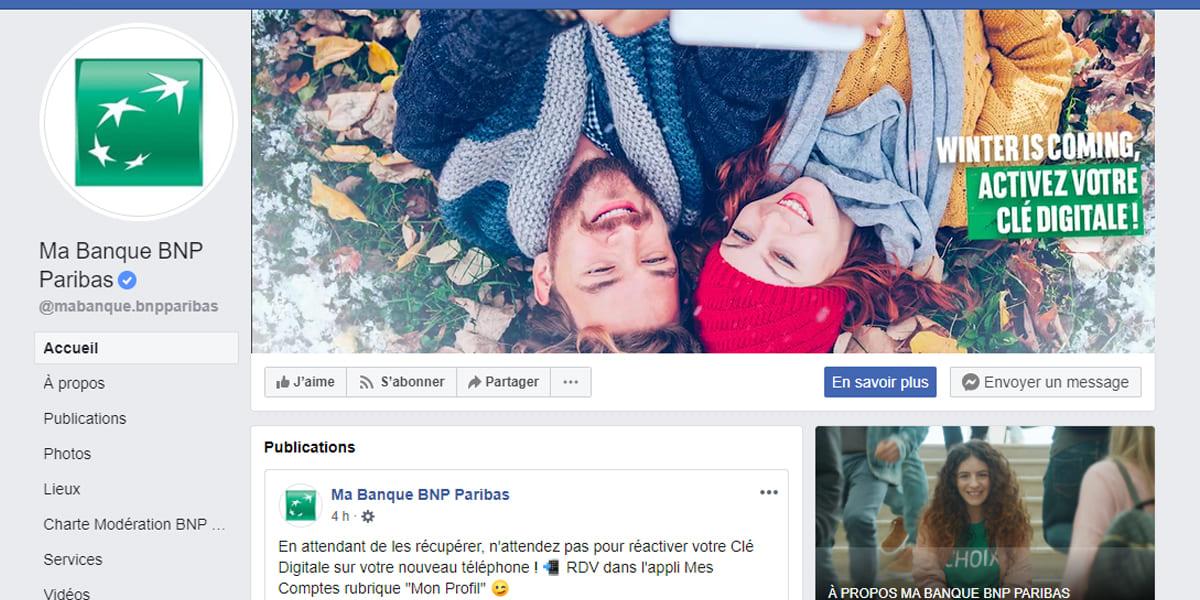 Exemple 9 - La couverture video d'une grande banque BNP Paribas