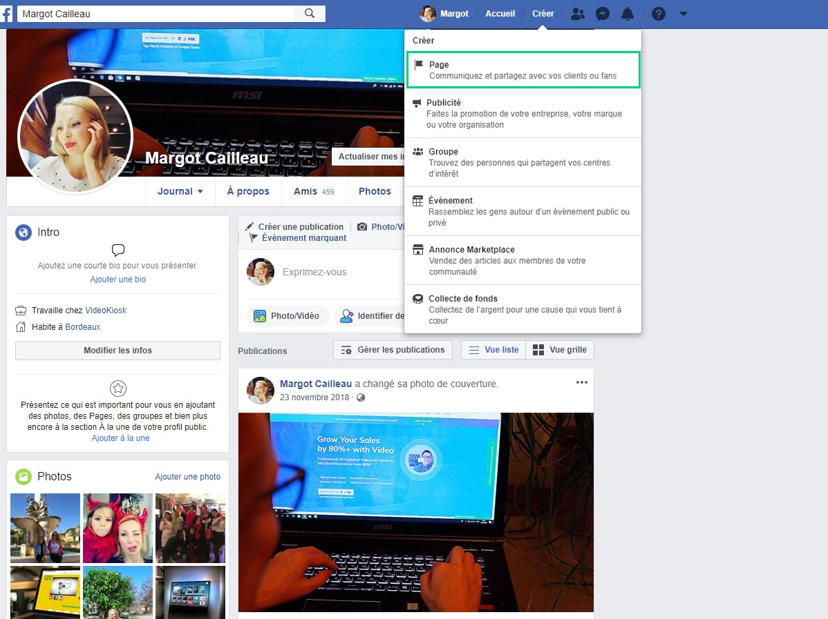 creer-une-page-facebook-professionnelle image 1