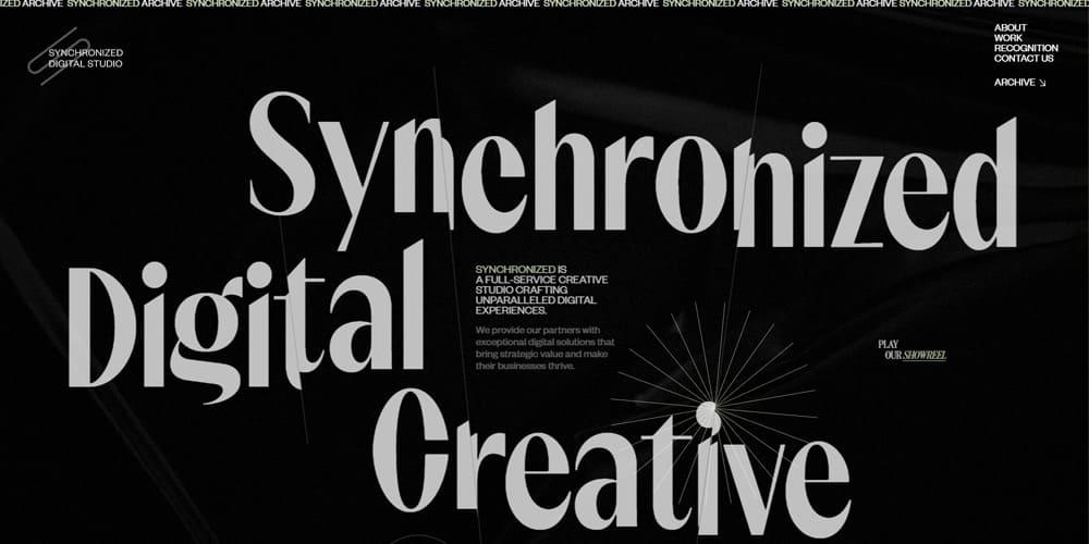 Web Design asymetrique