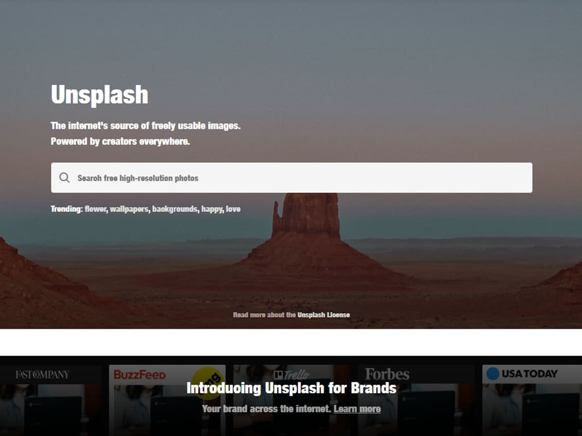 image gratuite Unsplash