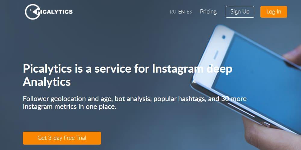 Picalytics est un service pour Instagram Deep Analytics