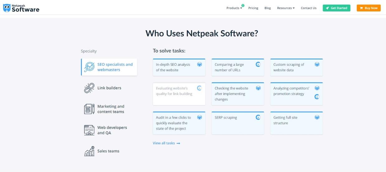 Who Uses Netpeak Software